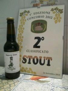 Secondi classificati tappa stout: Nasone Brewery