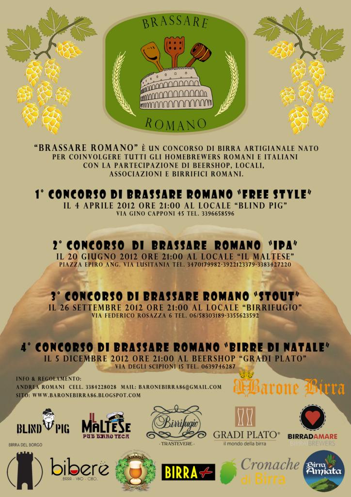 Brassare Romano 2012 - Locandina