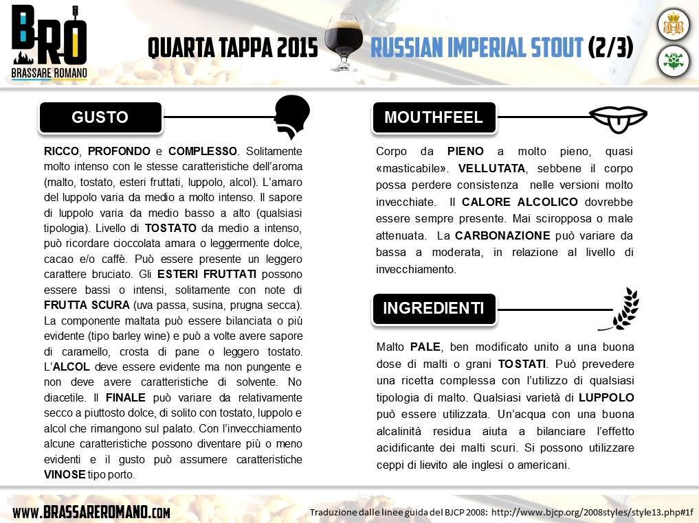 BRO2015 - Quarta Tappa - Imperial Stout (2/3)